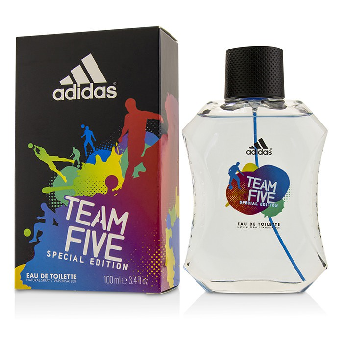 Adidas Team Five Eau De Toilette Spray (Special Edition) 100ml