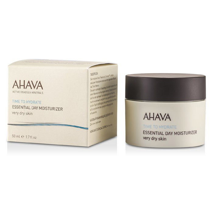 Ahava Time To Hydrate Essential Day Moisturizer (Very Dry Skin) 50ml