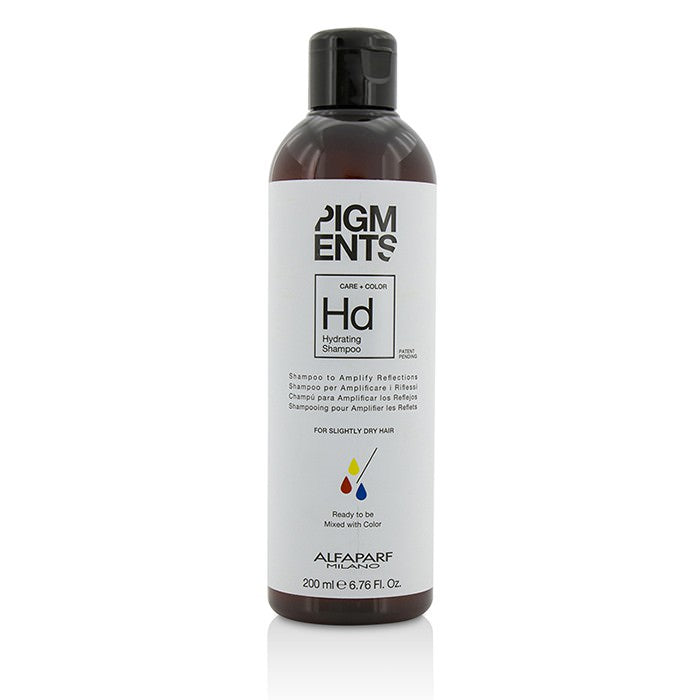 AlfaParf Pigments Hydrating Shampoo (For Slightly Dry Hair) PF014095 200ml