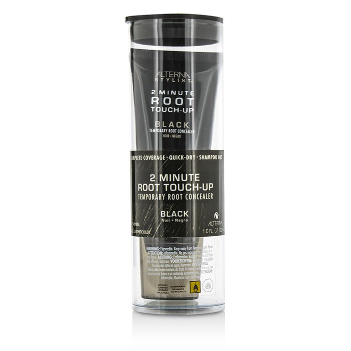 Alterna Stylist 2 Minute Root Touch-Up Temporary Root Concealer - # Black 30ml