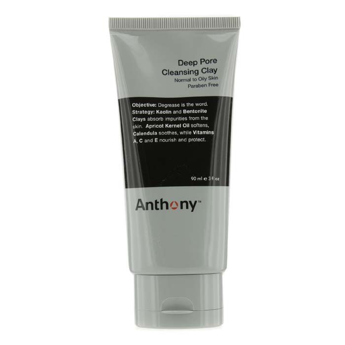 Anthony Logistics For Men Deep Pore Cleansing Clay (Normal To Oily Skin) 90g