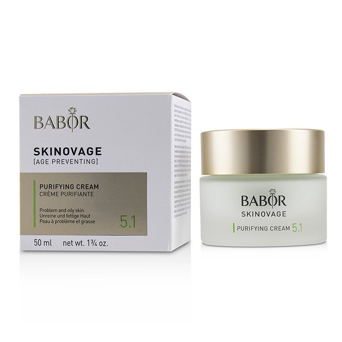 Babor Skinovage [Age Preventing] Purifying Cream 5.1 - For Problem & Oily Skin 50ml