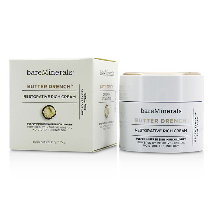 BareMinerals Butter Drench Restorative Rich Cream - Dry To Very Dry Skin Types 50g