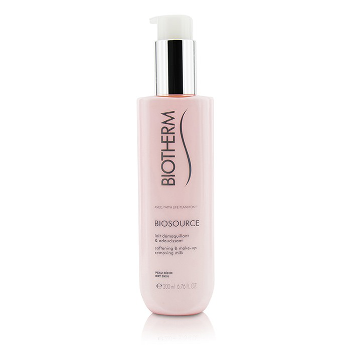 Biotherm Biosource Softening & Make-Up Removing Milk - For Dry Skin 200ml
