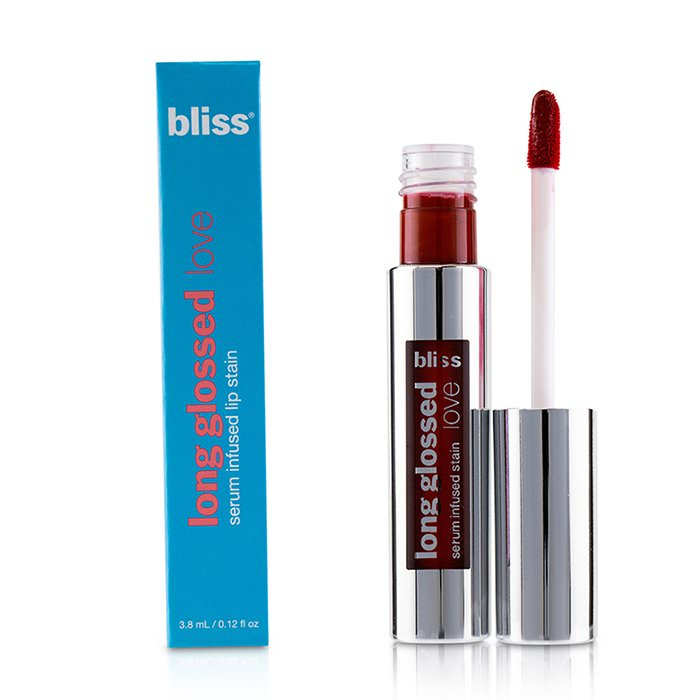 Bliss Long Glossed Love Serum Infused Lip Stain - # Red Hot Mama 3.8ml