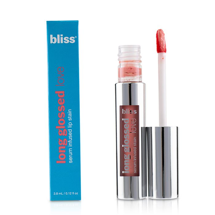 Bliss Long Glossed Love Serum Infused Lip Stain - # Wishful Pinking 3.8ml