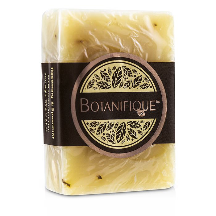 Botanifique Pure Bar Soap - Rosemary & Spearmint 100g