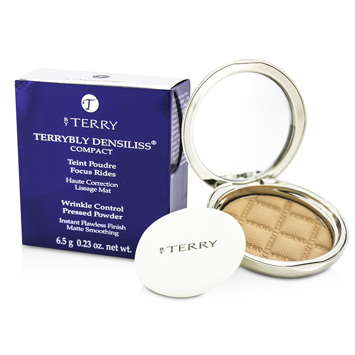 By Terry Terrybly Densiliss Compact (Wrinkle Control Pressed Powder) - # 6 Amber Beige 6.5g