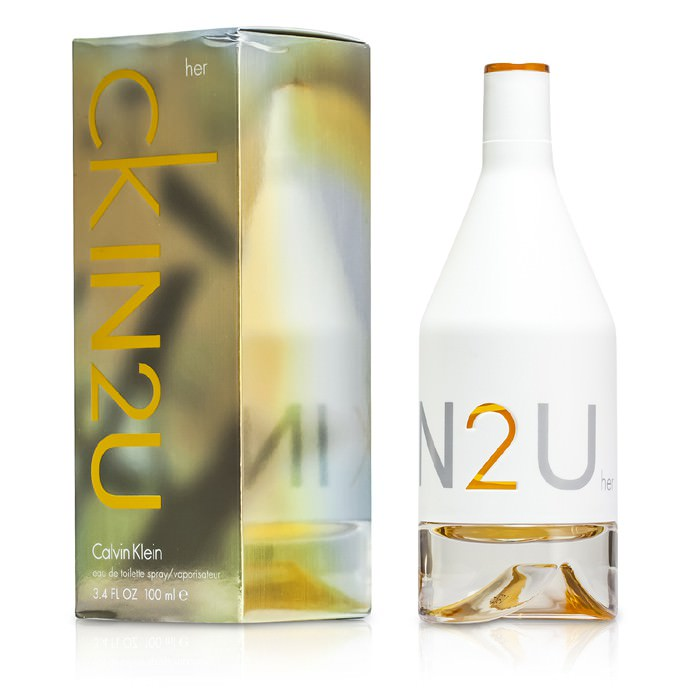 Calvin Klein Womens IN2U Eau De Toilette Spray 100ml