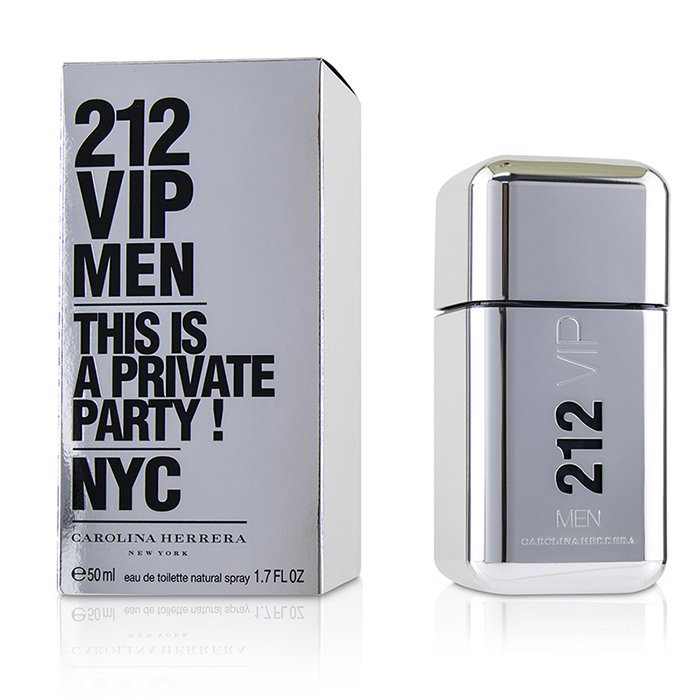 Carolina Herrera 212 VIP Eau De Toilette Spray 50ml