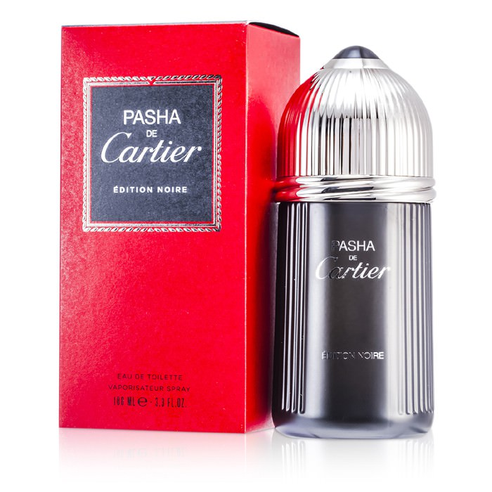 Cartier Pasha Eau De Toilette Spray (Edition Noire) 100ml