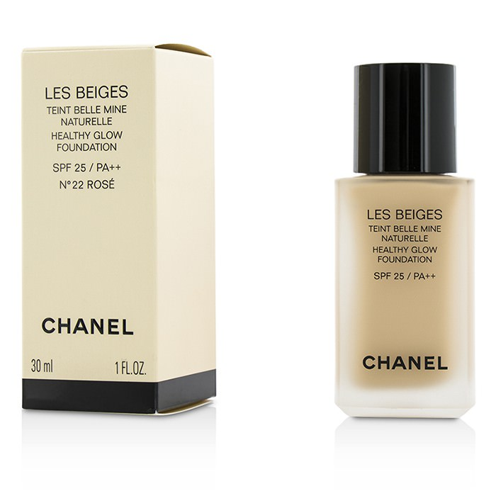 Chanel Les Beiges Healthy Glow Foundation SPF 25 - No. 22 Rose 30ml