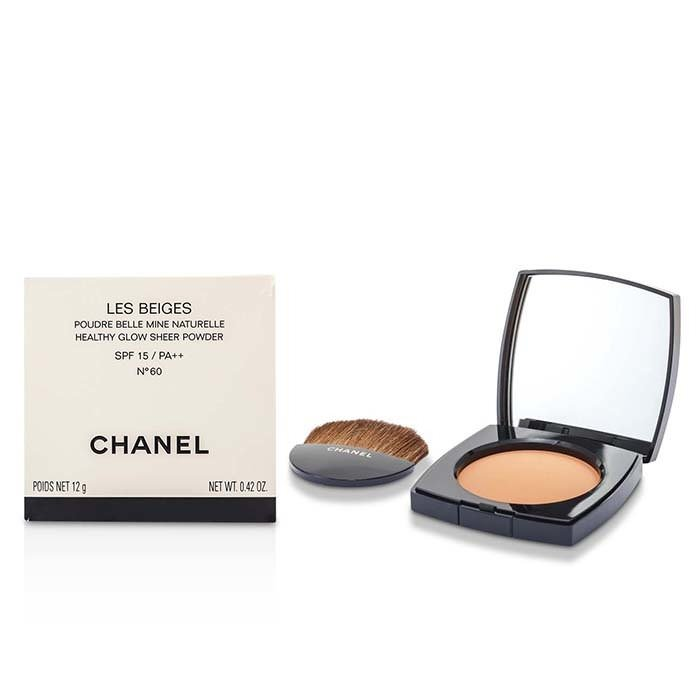 Chanel Les Beiges Healthy Glow Sheer Powder SPF 15 - No. 60 12g