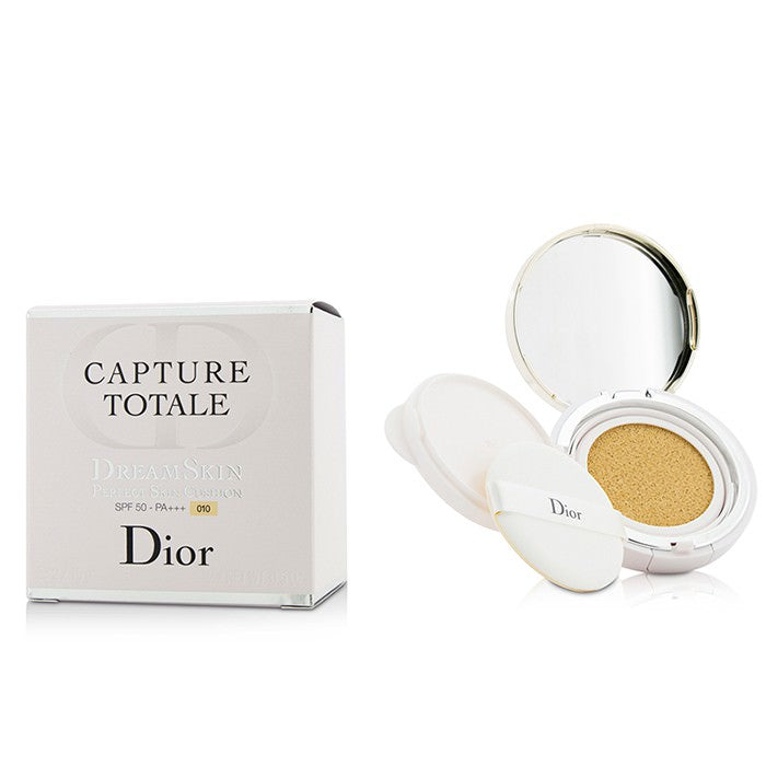 Christian Dior Capture Totale Dreamskin Perfect Skin Cushion SPF 50 With Extra Refill - # 010 2x15g