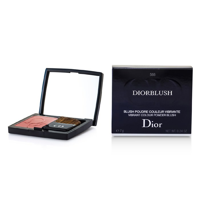 Christian Dior DiorBlush Vibrant Colour Powder Blush - # 566 Brown Milly 7g