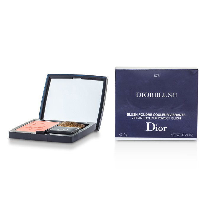 Christian Dior DiorBlush Vibrant Colour Powder Blush - # 676 Coral Cruise 7g