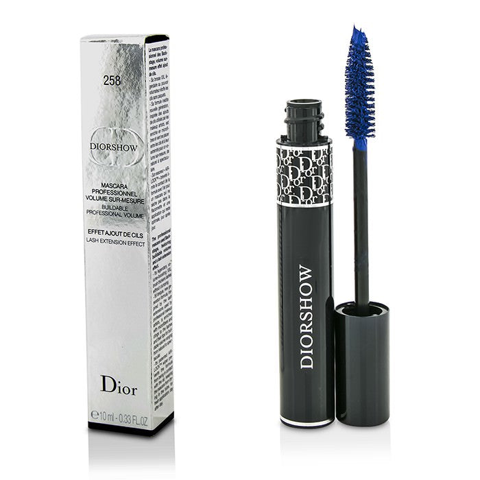 Christian Dior Diorshow Buildable Volume Lash Extension Effect Mascara - # 258 Pro Blue 10ml