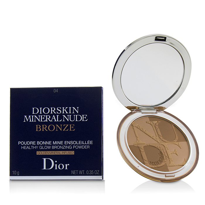 Christian Dior Diorskin Mineral Nude Bronze Healthy Glow Bronzing Powder - # 04 Warm Sunrise 10g