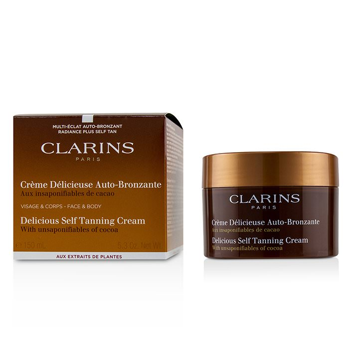 Clarins Delicious Self Tanning Cream For Face & Body 150ml
