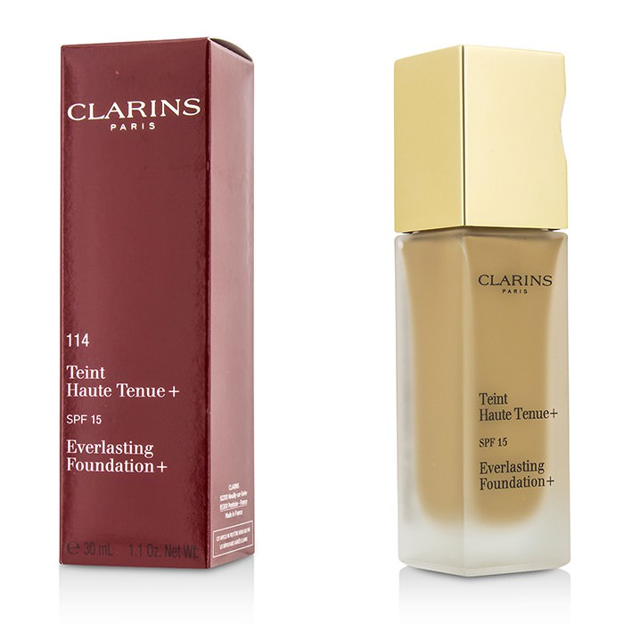 Clarins Everlasting Foundation+ SPF15 - # 114 Cappuccino 30ml