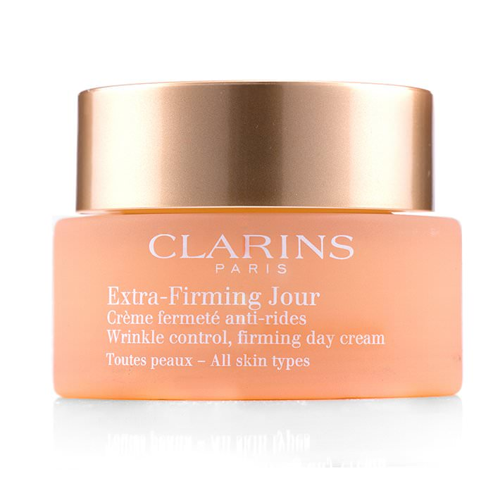 Clarins Extra-Firming Jour Wrinkle Control, Firming Day Cream - All Skin Types 50ml