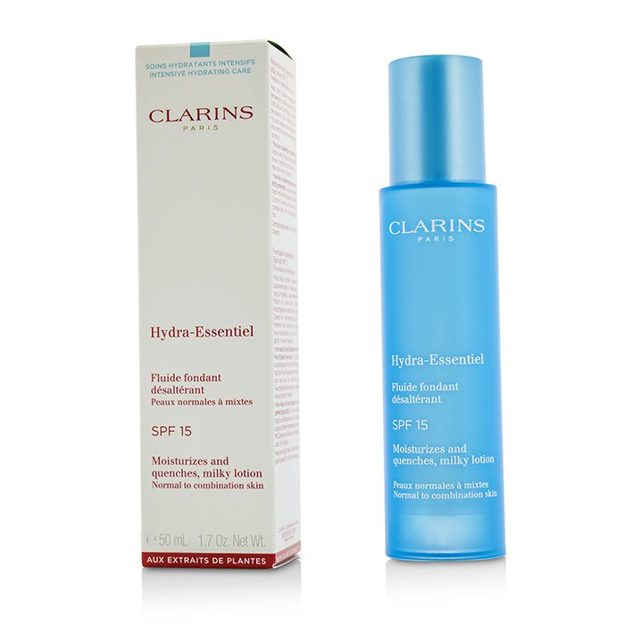 Clarins Hydra-Essentiel Moisturizes & Quenches Milky Lotion SPF 15 - Normal to Combination Skin 50ml