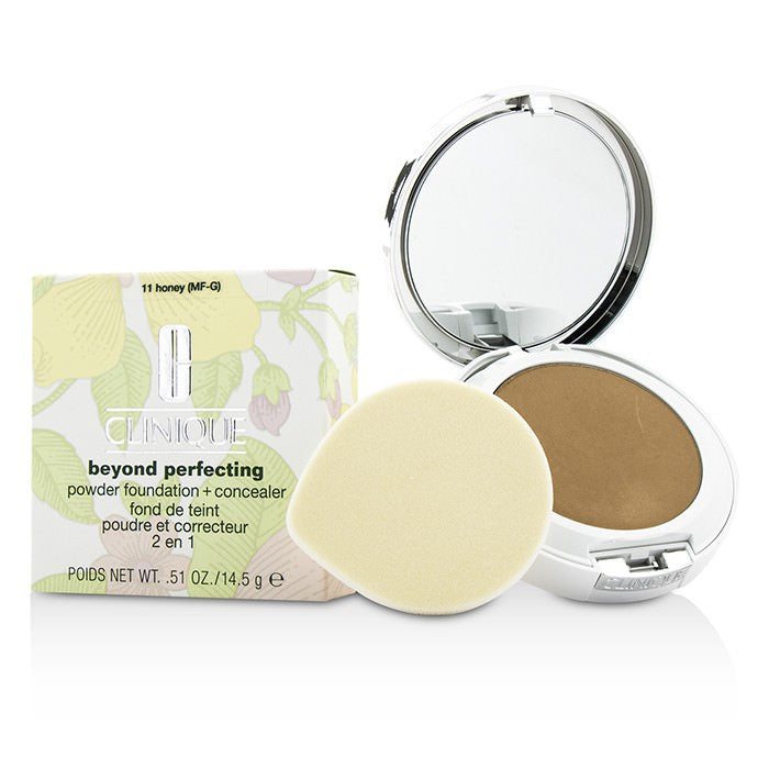 Clinique Beyond Perfecting Powder Foundation + Corrector - # 11 Honey (MF-G) 14.5g