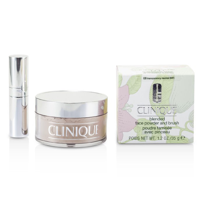 Clinique Blended Face Powder + Brush - No. 08 Transparency Neutral 35g