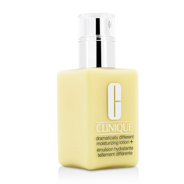 Clinique Dramatically Different Moisturizing Lotion+ - For Very Dry to Dry Combination Skin (With Pump) 125ml