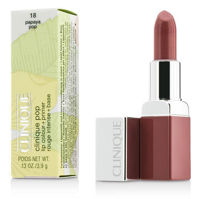 Clinique Pop Lip Colour + Primer - # 18 Papaya Pop 3.9g