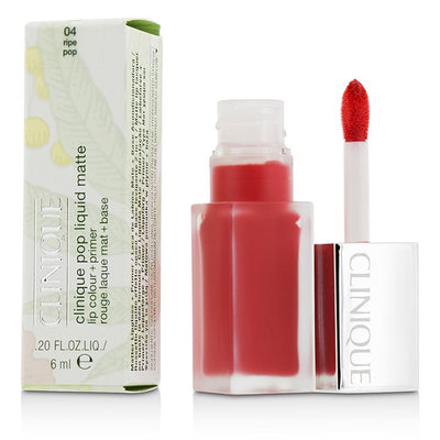 Clinique Pop Liquid Matte Lip Colour + Primer - # 04 Ripe Pop 6ml