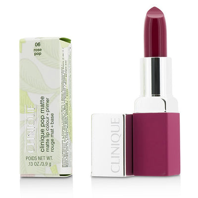 Clinique Pop Matte Lip Colour + Primer - # 06 Rose Pop 3.9g