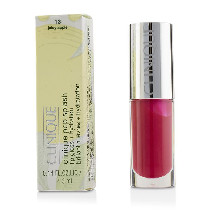 Clinique Pop Splash Lip Gloss + Hydration - # 13 Juicy Apple 4.3ml