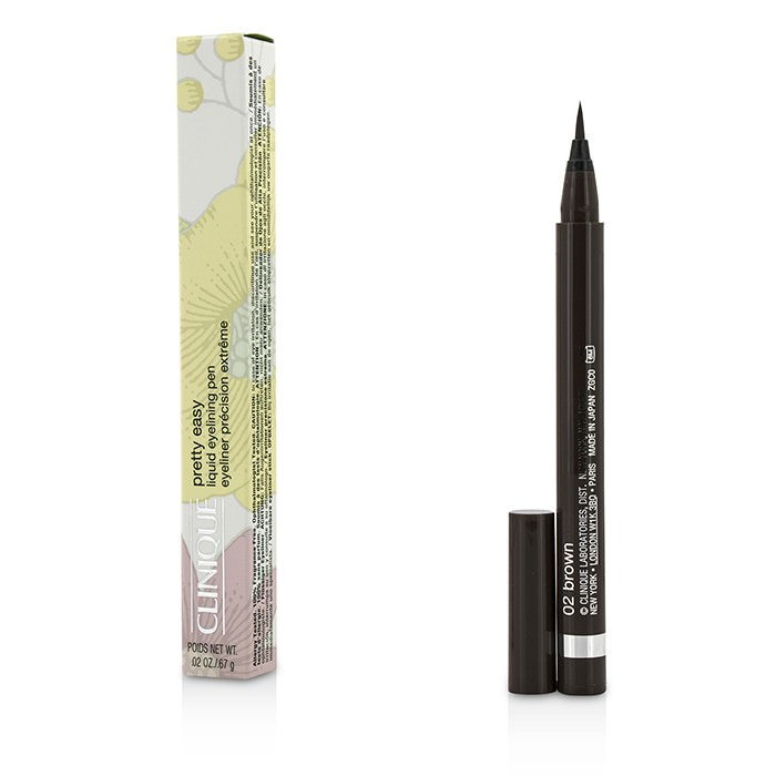 Clinique Pretty Easy Liquid Eyelining Pen - #02 Brown 0.67g