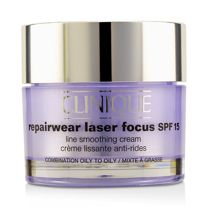 Clinique Repairwear Laser Focus Line Smoothing Cream SPF 15 - Combination Oily To Oily 50ml