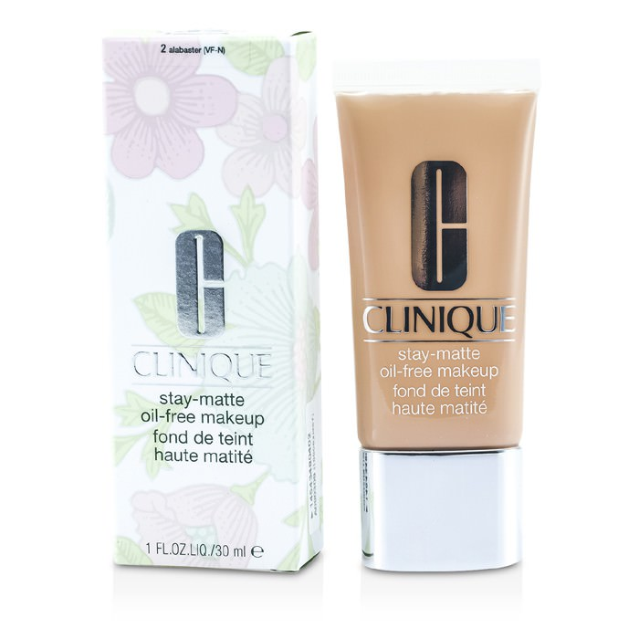 Clinique Stay Matte Oil Free Makeup - # 02 Alabaster (VF-N) 30ml