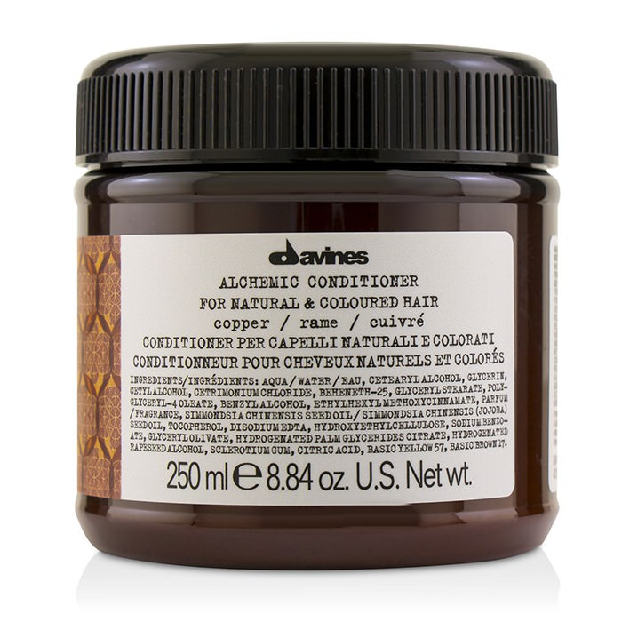 Davines Alchemic Conditioner - # Copper (For Natural & Coloured Hair) 250ml