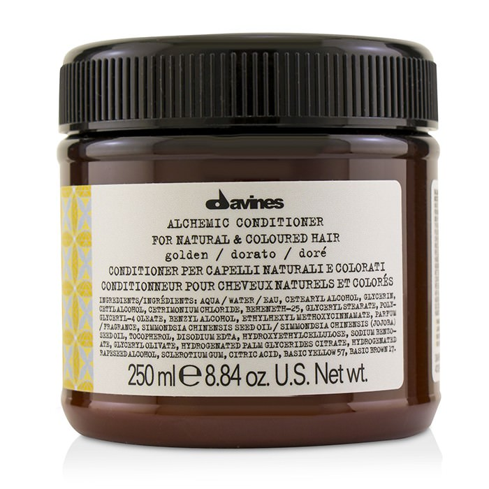 Davines Alchemic Conditioner - # Golden (For Natural & Coloured Hair) 250ml