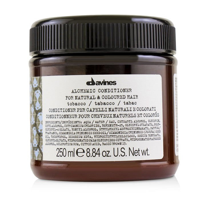 Davines Alchemic Conditioner - # Tobacco (For Natural & Coloured Hair) 250ml