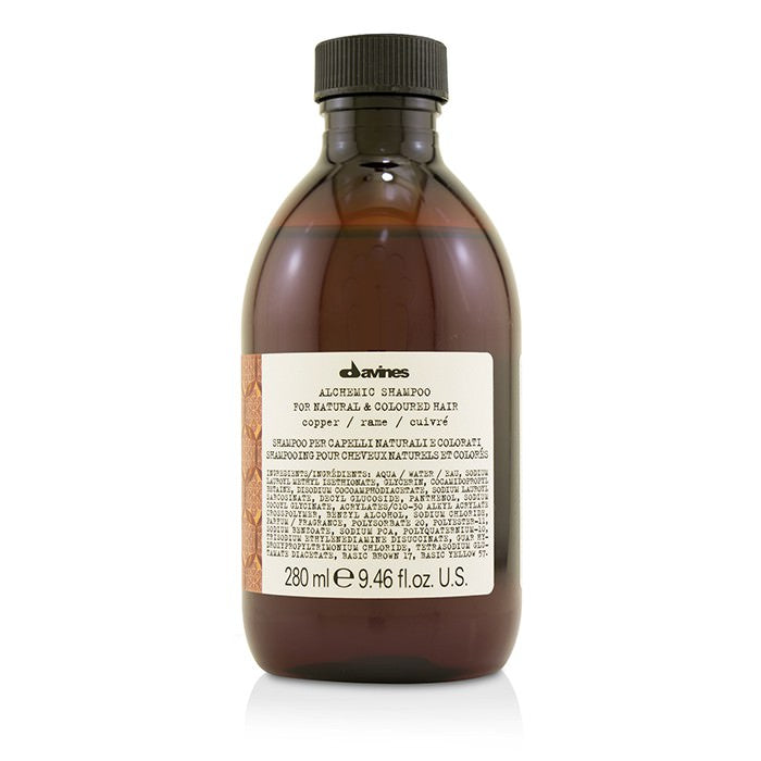 Davines Alchemic Shampoo - # Copper (For Natural & Coloured Hair) 280ml