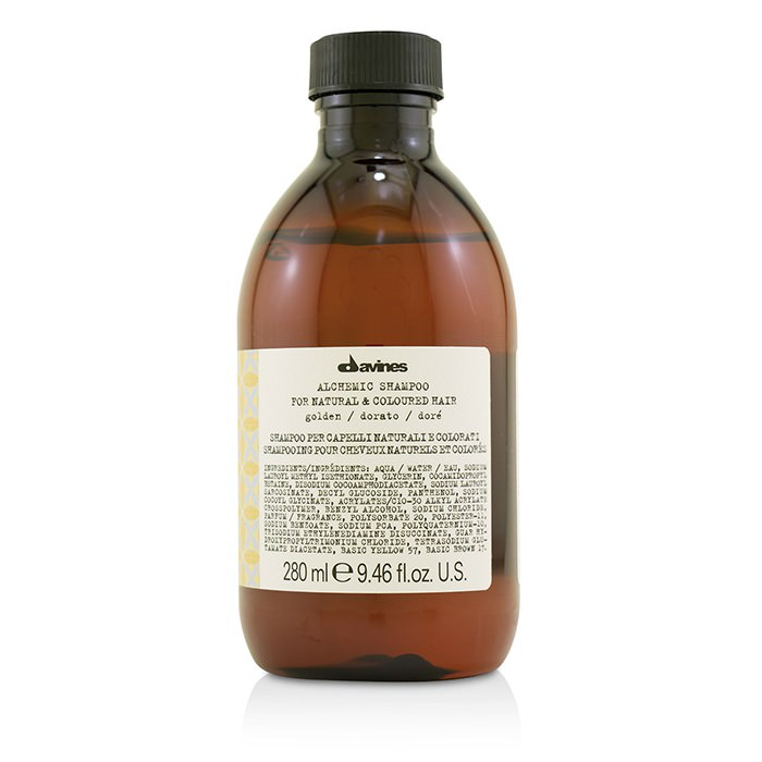 Davines Alchemic Shampoo - # Golden (For Natural & Coloured Hair) 280ml