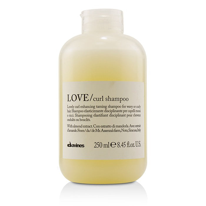 Davines Love Curl Shampoo (Lovely Curl Enhancing Taming Shampoo For Wavy or Curly Hair) 250ml