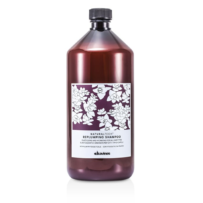 Davines Natural Tech Replumping Shampoo (For All Hair Types) 1000ml