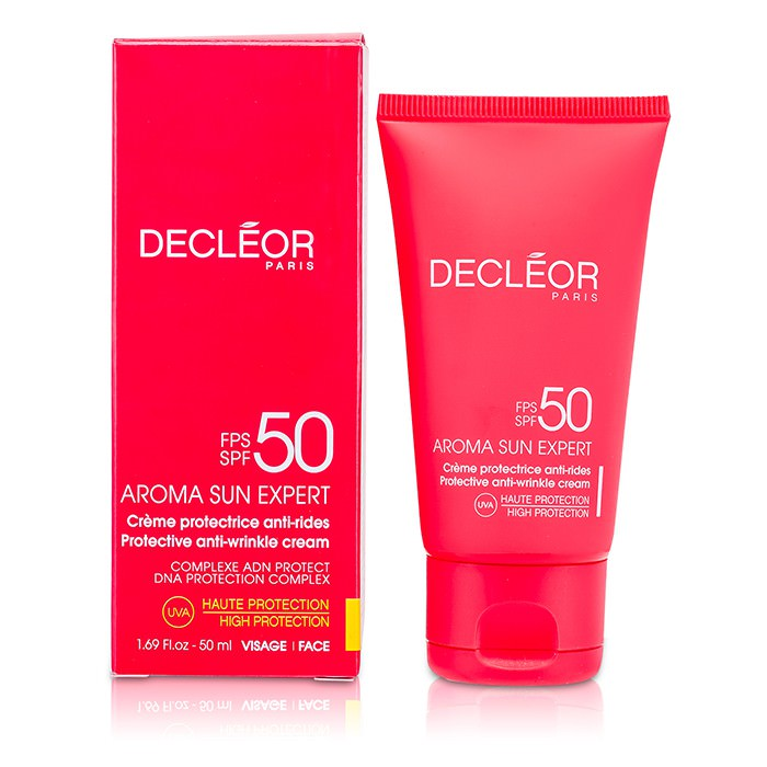 Decleor Aroma Sun Expert Protective Anti-Wrinkle Cream High Protection SPF 50 50ml