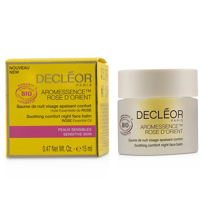 Decleor Aromessence Rose D'Orient Soothing Comfort Night Face Balm - For Sensitive Skin 15ml