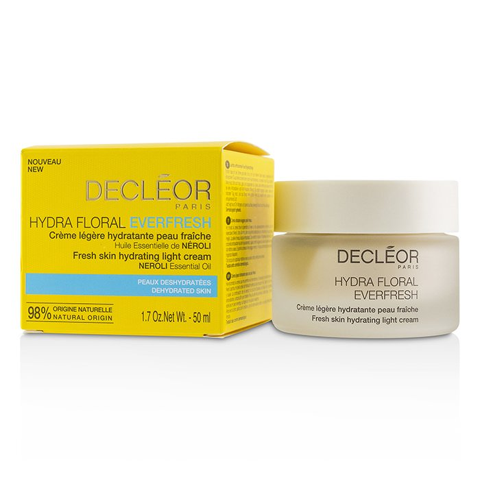 Decleor Hydra Floral Everfresh Fresh Skin Hydrating Light Cream - For Dehydrated Skin 50ml