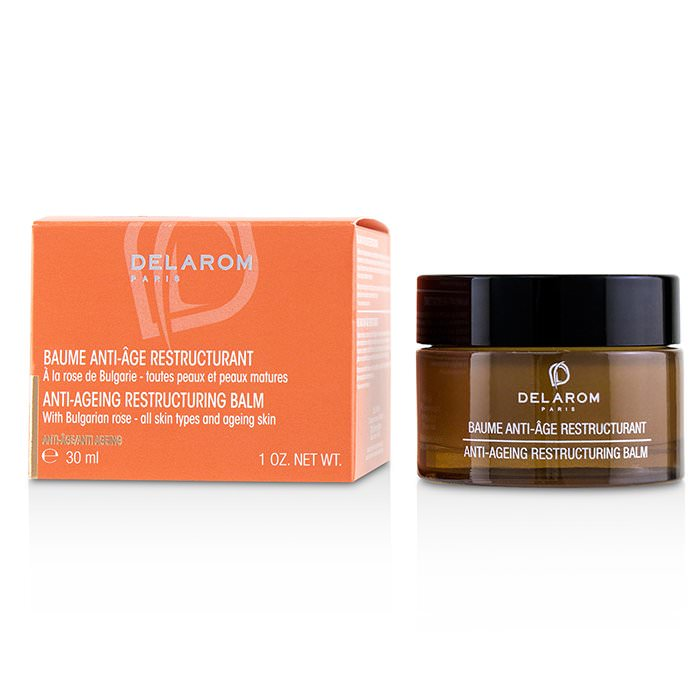 DELAROM Anti-Ageing Restructuring Balm - For All Skin Types & Ageing Skin 30ml
