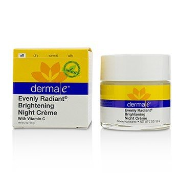 Derma E Evenly Radiant Brightening Night Cream 56g