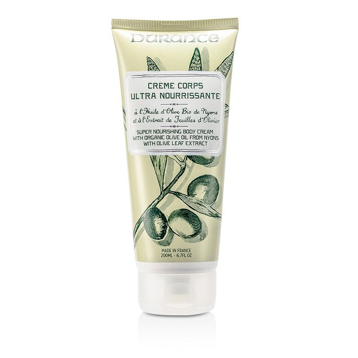 Durance Super Nourishing Body Cream with Olive Leaf Extract 200ml