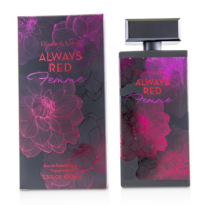 Elizabeth Arden Always Red Femme Eau De Toilette Spray 100ml
